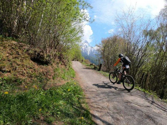 Escursione in E-bike Cimbergo